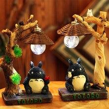 LED Night Light cute totoro  Romantic Bedroom decoration Kids Birthday Holiday resin gift