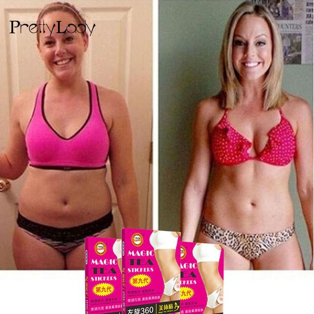 Slimming Cream Beauty Loss Lazy Products Weight Oil Stickers