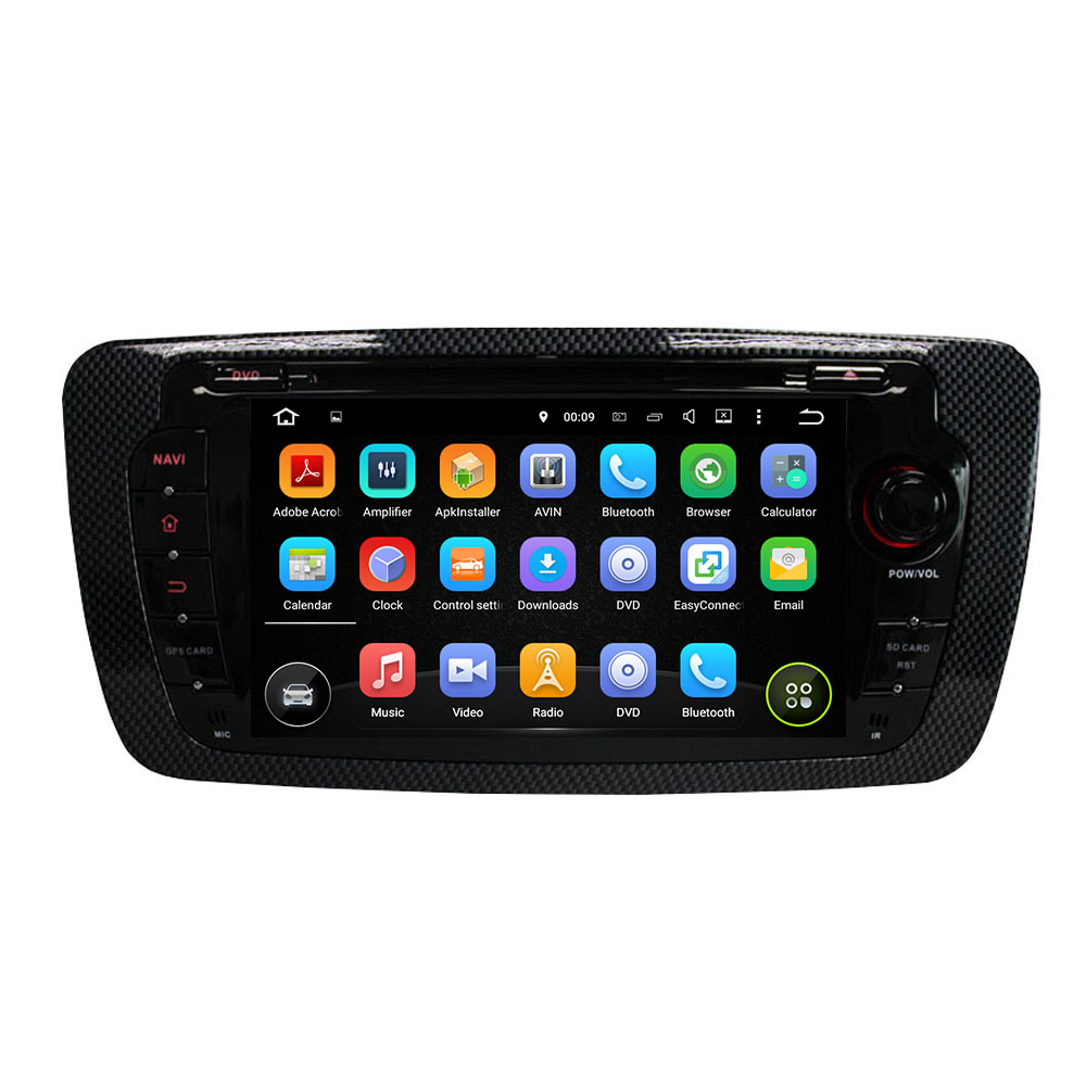 7″ Android 6.0 Octa-core Car Multimedia Player For SEAT IBIZA 2013 GPS Navigation Car Video Audio Stereo Free MAP Canbus