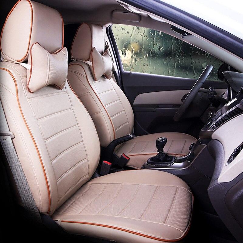 Coussin de siège auto en cuir synthétique polyuréthane de bonne qualité pour la série MG MG3 2010-2017 MG5 MG6 MG7 GT ZS HS RX5 2007-2019 ans coussin de siège de voiture
