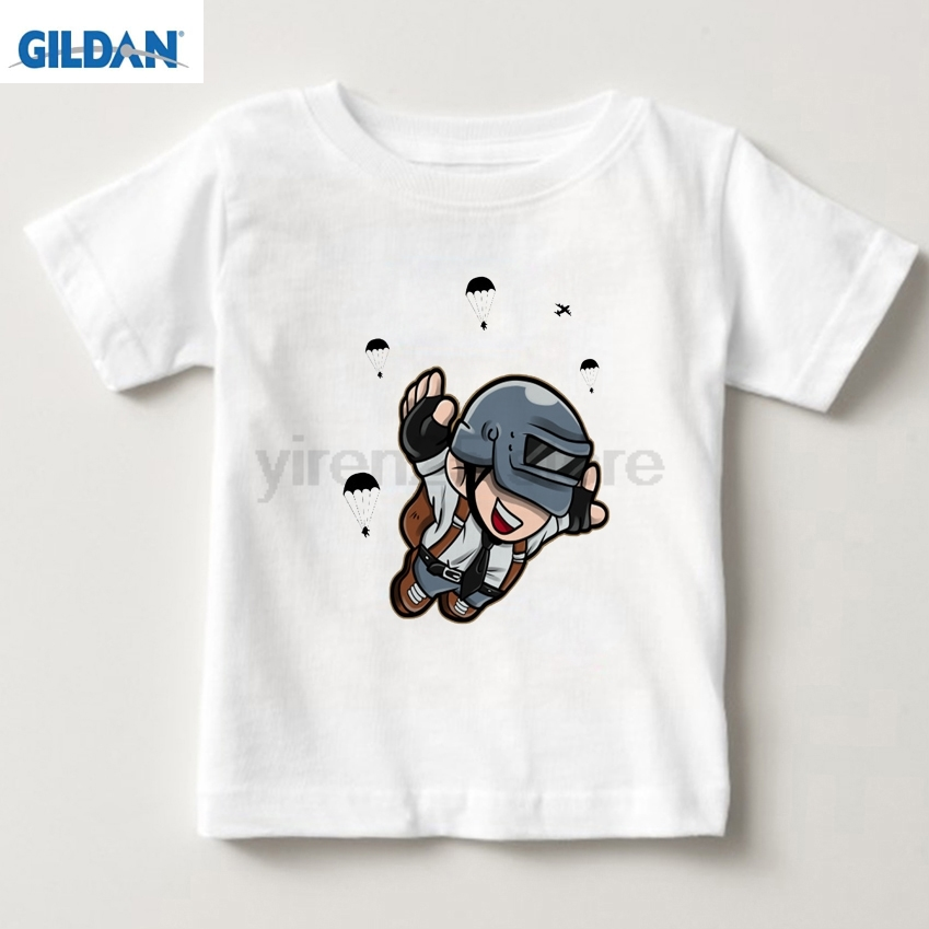 Cool Playerunknown S Battlegrounds T Shirt Large Size: 2018 Cotton Children T Shirts Clothing Short Graphic