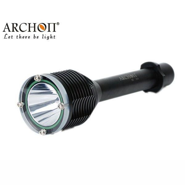 ARCHON D20 T6 1200 Lumen 3-Mode Professional Diving Led Flashlight Under Water 100M Power 2*18650 Battery цена