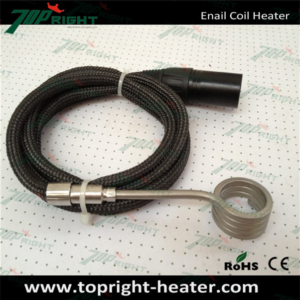 US $100 0 |120v 100/120/150w spiral enail coil heater with 5pin xlr plug  connector, 6types for your choice!-in Electricity Generation from Home