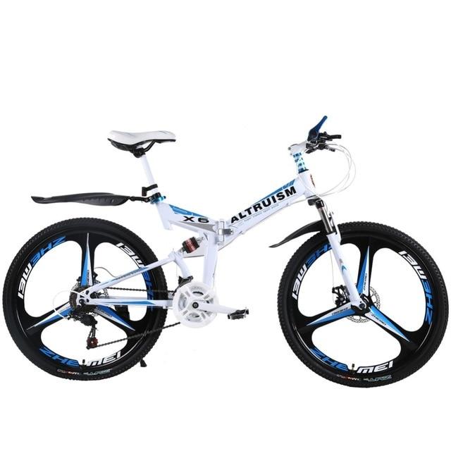 Альтруизм X6 21 Скорость Сталь горный велосипед Bicicleta 26 складной Велосипеды S Bicicletas мужские Mountain велосипеды