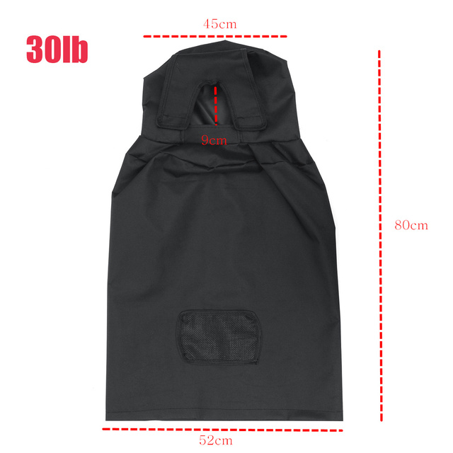 20lb / 30lb Propane Tank Cover Gas Bottle Covers Waterproof Dust-proof for Outdoor Gas Stove Camping Parts