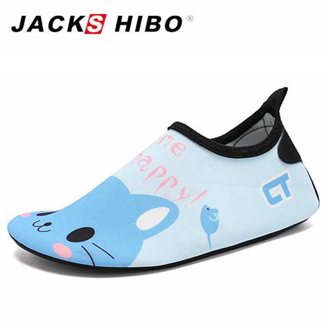 3ae3dd03119386 JACKSHIBO Cute Animal Water Shoes Children Beach Swimming Shoes for Kids  Sneakers Sea Shoes Kids Quick Drying Aqua Shoes
