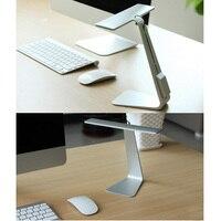 Ultrathin 200LM LED Desk Table Lamps Eye Protection 3 Mode Dimming Reading Lamp USB Foldable Rechargable