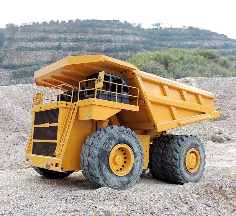 Camion minier hydraulique de carrière de RC d'échelle de 1/14/camion minier hydraulique de la terre 797F de 1:14