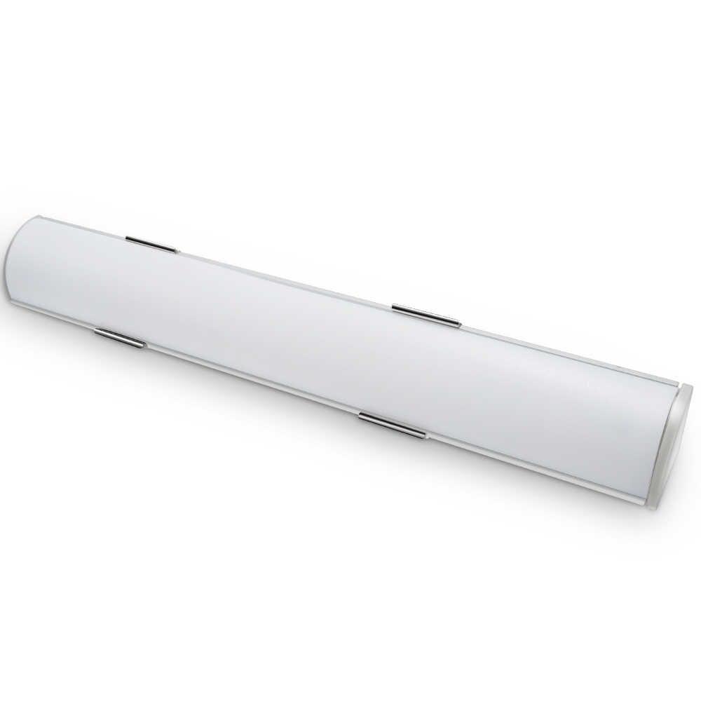 UnvarySam 0,5 Meter 16*16mm Ecke Montage Aluminium LED Profil mit Rund Objektiv, kompatibel mit Streifen Breite innerhalb von 10mm
