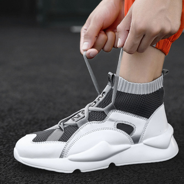 Man Fashion Casual Shoes  Brand Sneakers For Male Zapatillas Hombre Adult Big Size  Walking Shoes 45 Flat Trend Vulcanize Shoes