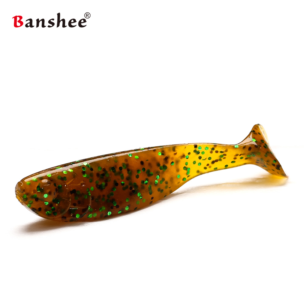 10pcs lot lures fishing wobbler New soft silicone bait for carp SDA65 fake lure 65mm 3 7g tackle grub shad isca Artificial in Fishing Lures from Sports Entertainment