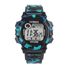 Paradise 2016 Hot Kids Child Boy Girl   Fashion Sports style Waterproof Sports Electronic Watch Watches Free Shipping May31