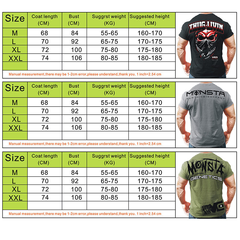 KORKSLORES 2018 Summer New mens gyms T shirt Crossfit Fitness Bodybuilding Fashion Male Short cotton clothing