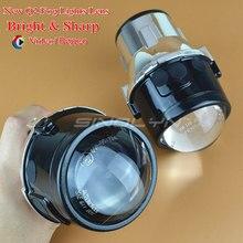 Sinolyn Металл Универсальный Противотуманные фары объектив проектора для вождения Лампы для мотоциклов переднего бампера Aftermarket модернизации Освещение для автомобиля мотоцикла