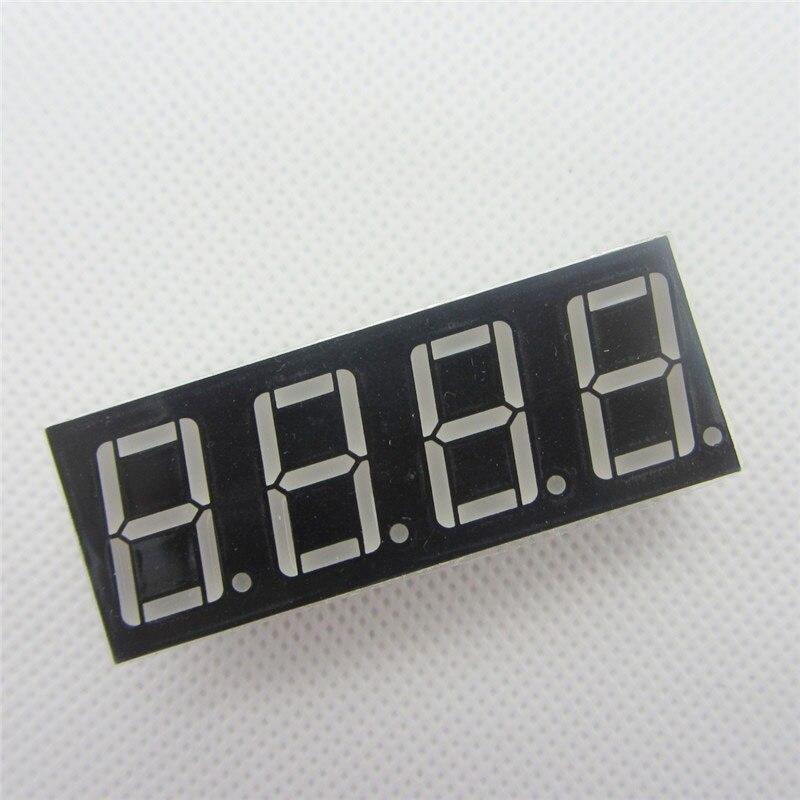Big Sale!!! 10pcs 4bit 4 Bit Common Cathode Digital Tube 0.56