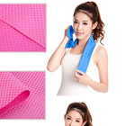80 *17cm Sport Hypothermia Cooling Towels Summer Exercise Sweat Ice Cold Towel Quick Dry Towels