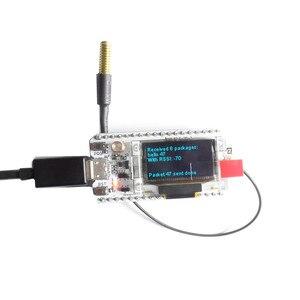 Image 5 - 433 MHZ ESP32 LoRa SX1278 esp32 led 0.96 Pulgadas OLED Azul pantalla Bluetooth WIFI Lora Kit 32 433 MHZ Placa de Desarrollo para Arduino