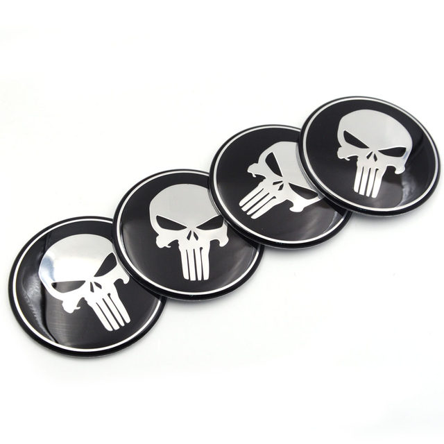 Online Shop Gzhengtong Cool Punisher Car Steering Tire Wheel Center