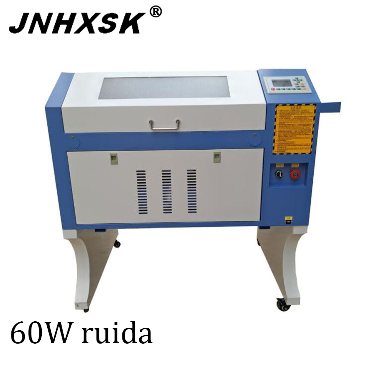TS4060 60W  400 X 600mm CO2 Laser Engraving Machine For Woodcut/Gourd/Bamboo Tube/Acrylic/Rubber/Leather