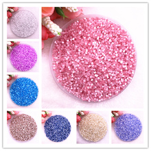 Glass-Bugle-Beads Jewelry-Making Long-Tube Two-Hole European-Seed Cylindrical for 800pcs/Lot