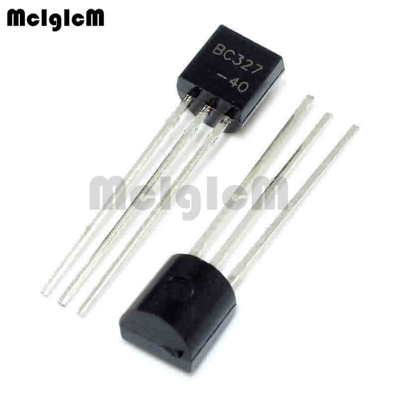 MCIGICM 5000pcs in line triode transistor TO 92 0.8A 45V PNP BC327 bc327 40-in Transistors from Electronic Components & Supplies