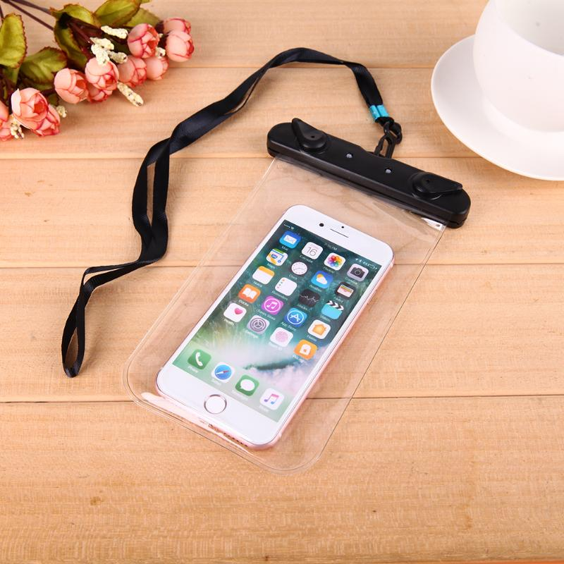 Sealing Waterproof Mobile Phone Bags With Strap Protect Bag Dry Pouch Protective Case Cover 5.8inch Smart Phone Swimming Bags