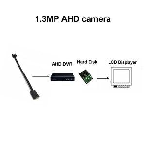 Image 5 - 1.3MP ミニ AHD カメラマイクロオーディオカメラ AHD/TVI/CVI/CVBS 4 で 1 AHD ため UTC DVR キットマイクロ CCTV カメラセキュリティシステム DC 12V