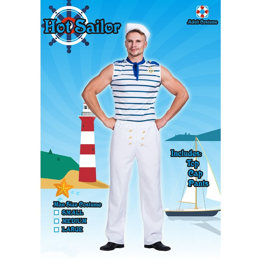 Carton Popeye the Sailor Cosplay Costume Party Halloween Stage Play New Fashion Figure Costume Drop Ship