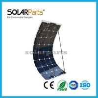 Boguang 18 В 100 Вт гибкие солнечные панели 12 В высокая эффективность Class-A монокристаллический домашнего использования Пласа Солнечный вставки я...