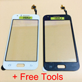 Top Quality Phone Touch Screen For Samsung Galaxy J1 Mobile Phone Touchscreen With Digitizer Repair Parts NO LCD DISPLAY + Tools