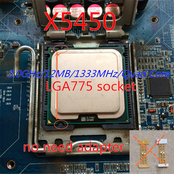 working 775 socket x5450 CPU 3.0GHz /LGA771/L2 Cache 12MB/Quad-Core/FSB 1333MHz/45nm/ server Processor Close to Core 2 q9550 cpu