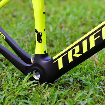 TRIFOX Road Carbon fiber Bike Frame Di2 & Mechanical 700C Carbon Road Bike Frame +fork+headsets+clamp+seatpost 1