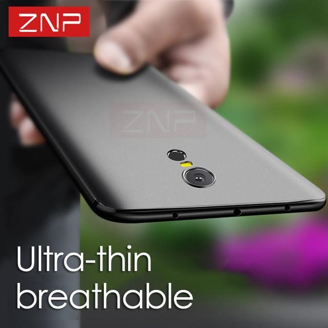 ZNP роскошный скраб мягкий силиконовый чехол для Xiaomi Redmi Note 4 4X ультра тонкий мягкий чехол Чехлы для Xiaomi Redmi 4x4 4 Pro Чехол