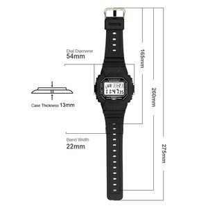 Image 5 - ספורט שעון גברים שעונים זכר ספירה לאחור שעון מעורר כרונו דיגיטלי שעוני יד 50M עמיד למים Relojes דה hombre דיגיטלי שעון