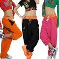 Nueva Marca de moda de Las Mujeres de La Cadera hop pantalones desgaste de la danza del traje ds Carta informal harén pantalones ocasionales flojos