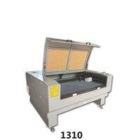 Бесплатная доставка двойной лазер 100W1310 Лазерная резка машина 1300*1000mmco2 лазерная гравировка машина 220 В/110 В лазерная резак для дерева
