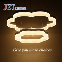 Z Best Price Luxuriou Atmosphere Modern Cafe Lamp Circular LED Creative Living Room Lamp Chandelier Lamp