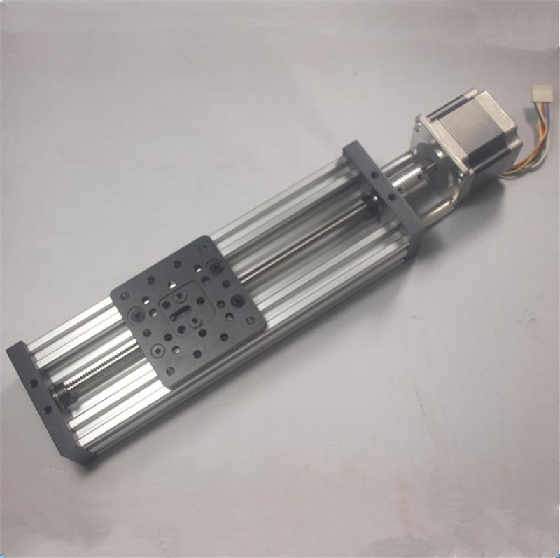 SWMAKER 3D printer DIY NEMA 23 c-beam Z axis kit CNC Z-AXIS ASSEMBLY kit TR8*8(2mm) lead screw Linear Actuator Bundle kit set diy nema 23 c beam z axis kit cnc z axis assembly kit m8 lead screw linear actuator bundle set with stepper motor