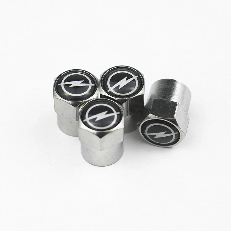 4pcs style Metal Wheel Tire Valve Caps Case For Vw Hyundai Toyota Nissan Audi Skoda Renault Opel Lada Chevrolet Car Accessories 15
