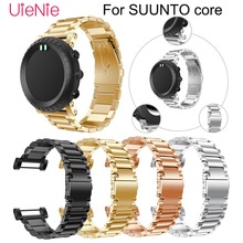 Stainless steel watch band For Suunto Core smart watch strap Bracelet Wristband Replacement strap For Suunto Core watchband