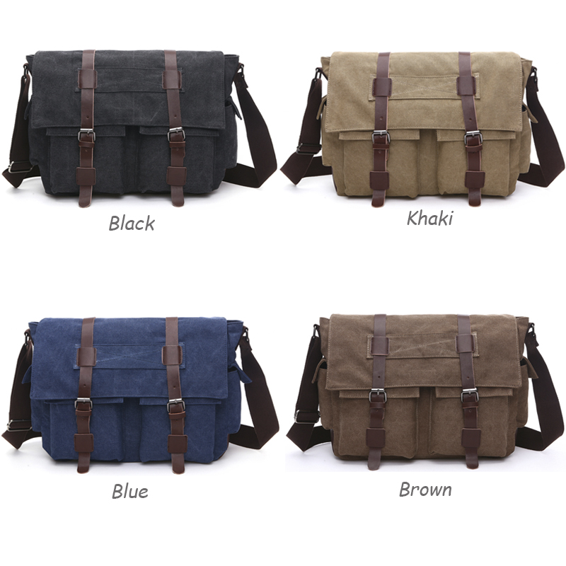 71672bd926 ZuoLunDuo Vintage Canvas Men Messenger Bag Travel Designer Brand Vintage  Crossbody Bags Laptop School Satchel Shoulder Bags H-in Crossbody Bags from  Luggage ...