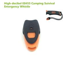 купить E0437 high decibel Whistles Nylon Outdoor Lifesaving Whistle Camping Suivival Tactical Emergency Whistle For Camping Hiking  по цене 580.32 рублей