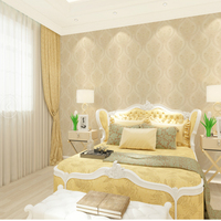 Modern Geometric Wallpaper Wood Fiber Homes Decor Damask Wallpaper For Walls Bedroom Living Room Wall Paper Rolls