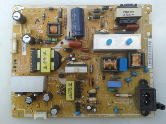 For Samsung LCD TV UA40EH5300R Power Supply Board BN44-00498A PD46AV1-CSM PSLF930C04A Is Used