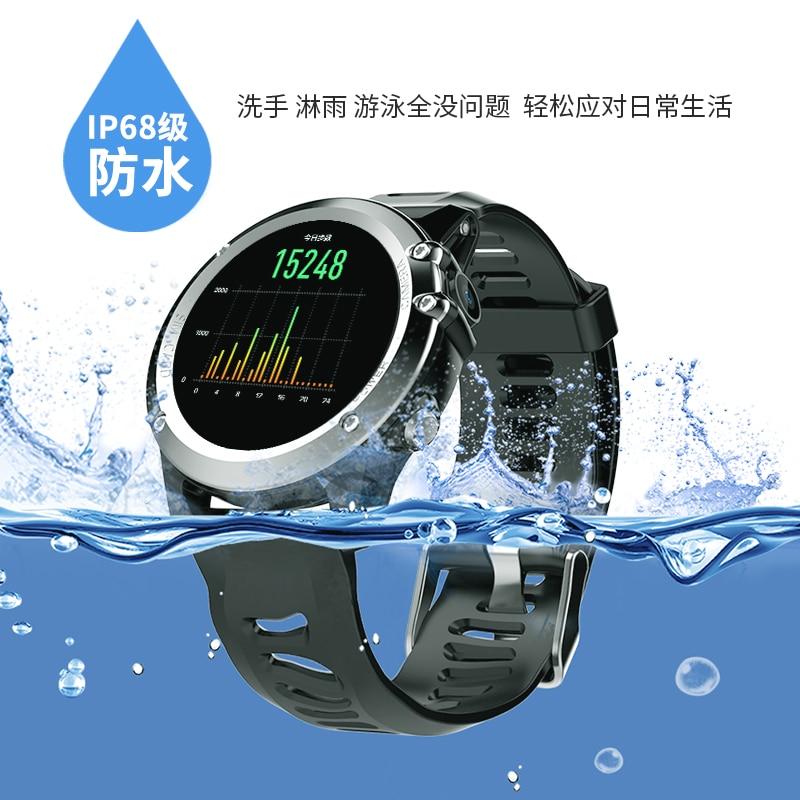 Mode Nouveau H1 Montre Smart Watch Android 4.4 Étanche 1.39 MTK6572 BT 4.0 3g Wifi GPS SIM Pour iPhone Smartwatch hommes Dispositifs Portables