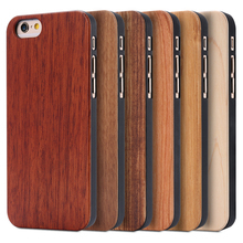 FLOVEME Real Wood Phone Case For iPhone 7 Plus 6 6S Plus 5 5S SE Cases For Samsung S7 S7 edge Cover Mobile Phone Accessories Bag