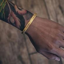 Mcllroy bangle men/women/cuff/love/bracelets & bangles open stainless steel titanium gold couple bracelet jewelry viking