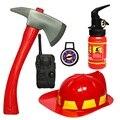 Игрушка-пожарник  1 комплект  детские игрушки для ролевых игр  обучающая игрушка для мальчиков