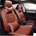 Buena calidad! conjunto completo de fundas de asiento de coche para Audi A1 A3 A4 A5 A6 A7 A8 2017-2008 durable cómodo asiento cubre, Envío libre
