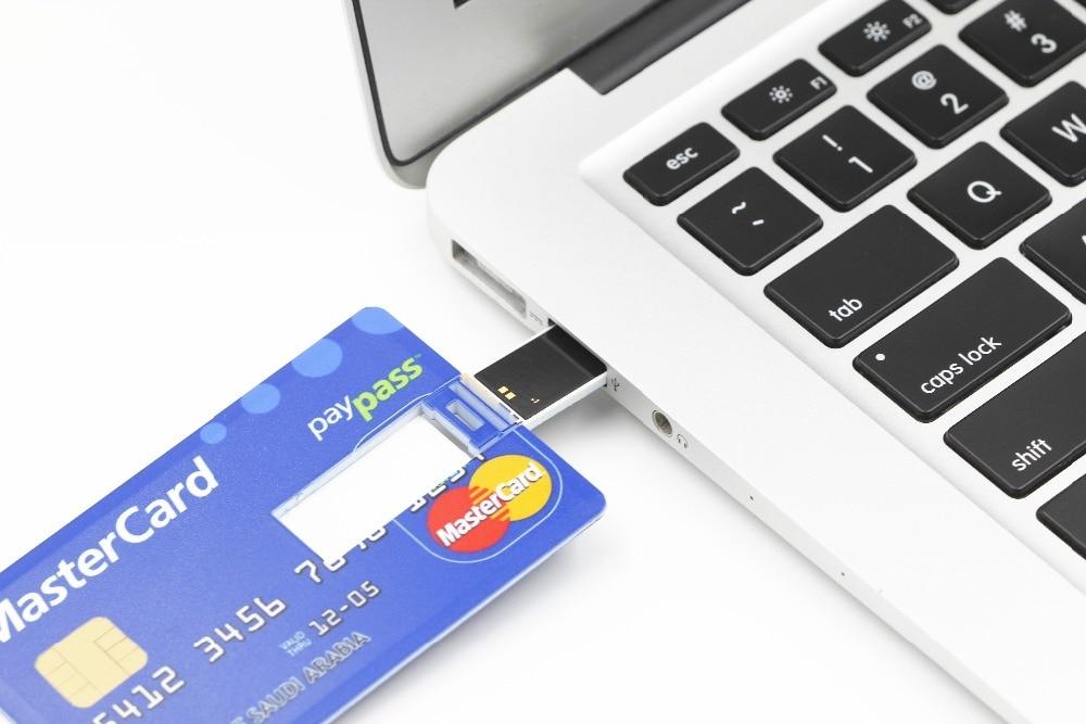 SMARE Creditcard USB Flash Drive op maat Pen drive pendrive - Externe opslag - Foto 5